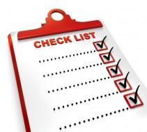 producao checklist