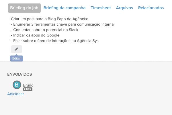 ferramentas de comunicação interna - Operand Briefing editável