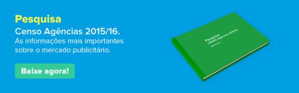 Censo Agências 2015 - Baixe agora