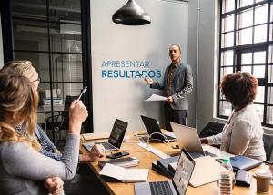 como apresentar resultados para clientes